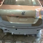 Кузовной ремонт и покраска Volkswagen Polo Sedan