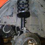 Замена амортизаторов Chevrolet Lacetti