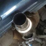 Ремонт выхлопной системы на Honda Rafaga