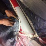 Ремонт стойки, крыла и замена лобового стекла Kia Picanto