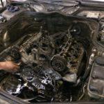 Капитальный ремонт ДВС Mercedes CLS W219