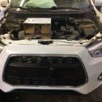 Кузовной ремонт и окраска Mitsubishi ASX