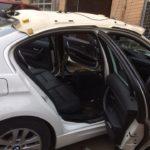 Замена обшивки потолка BMW 318