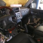 Установка сигнализации Mitsubishi Pajero