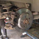 Замена тормозных дисков и колодок Mercedes Viano