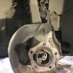 Замена ступичного подшипника Porsche
