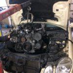 Замена двигателя Mercedes W211