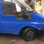 Кузовной ремонт и окраска Ford Transit