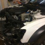 Замена радиатора отопления Audi A4
