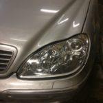 Замена фар Mercedes-Benz S220