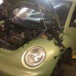 Замена мотора на контрактный VW New Beetle (Жук)
