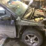 Кузовной ремонт и покраска Ford Fiesta