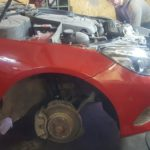 Кузовной ремонт и окраска Mercedes E-klasse