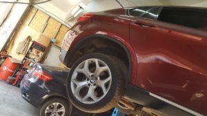 Снятие и ремонт турбин BMW X6 во Фрунзенском районе СПб