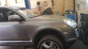Замена ШРУСа Porsche Cayenne во Фрунзенском районе СПб