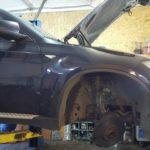 Замена наружного ШРУСа BMW X6