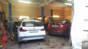 Замена насоса ГУР BMW X1 во Фрунзенском районе СПб