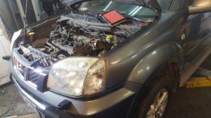 Замена ДВС Nissan X-Trail во Фрунзенском районе СПб
