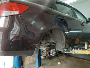 Замена ступицы колеса KIA Cerato во Фрунзенском районе СПб