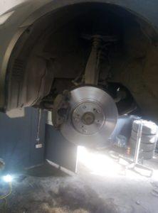 Замена тормозных дисков и колодок Honda Accord во Фрунзенском районе СПб