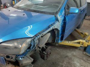 Кузовной и малярный ремонт Ford Focus 2 во Фрунзенском районе СПб