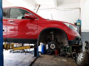 Ремонт подвески Honda CR-V во Фрунзенском районе СПб