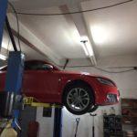 Техническое обслуживание Audi TTS
