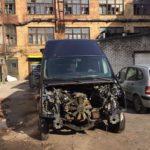 Замена двигателя и коробки передач Ford Transit