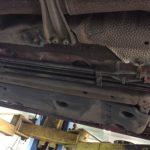 Замена тормозной трубки Lexus GS
