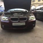 Замена ламп «ангельских глазок» BMW 3