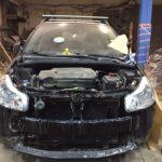 Кузовной ремонт и покраска Suzuki SX4