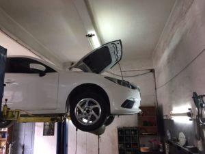 Техническое обслуживание Mazda 3 BM во Фрунзенском районе СПб