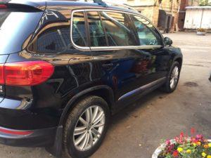 Кузовной ремонт и покраска Volkswagen Tiguan во Фрунзенском районе СПб