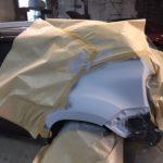 Кузовной ремонт и покрска Renault Duster