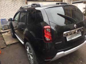 Кузовной ремонт и покрска Renault Duster во Фрунзенском районе СПб