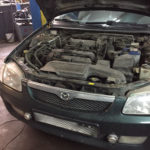 Техническое обслуживание Mazda 323