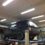 Замена АКПП Range Rover