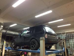 Замена АКПП Range Rover во Фрунзенском районе СПб