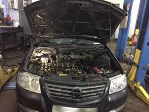 Ремонт двигателя Nissan Almera во Фрунзенском районе СПб