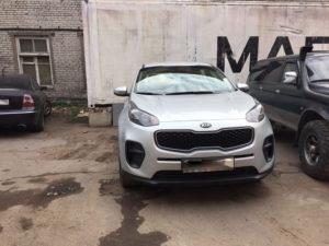 Кузовной ремонт и покраска KIA Sportage во Фрунзенском районе СПб