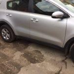 Кузовной ремонт и покраска KIA Sportage