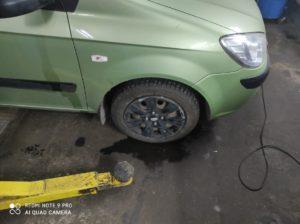 Шиномонтаж Hyundai Getz во Фрунзенском районе СПб