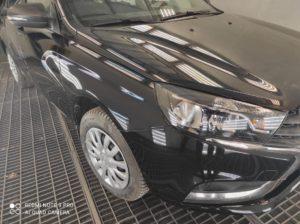 Кузовной ремонт и покраска Lada Vesta во Фрунзенском районе СПб