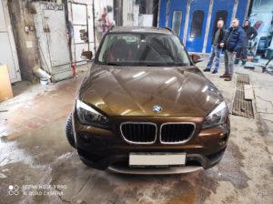 Кузовной ремонт и покраска BMW X1 во Фрунзенском районе СПб