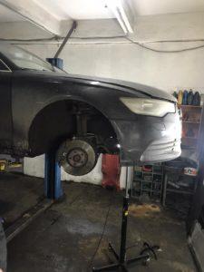 Замена опоры двигателя Audi A6 во Фрунзенском районе СПб